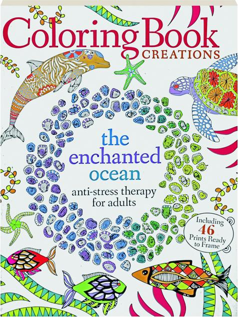 THE ENCHANTED OCEAN Coloring Book Creations