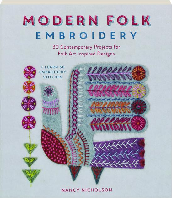 Excellent modern embroidery projects makaroka