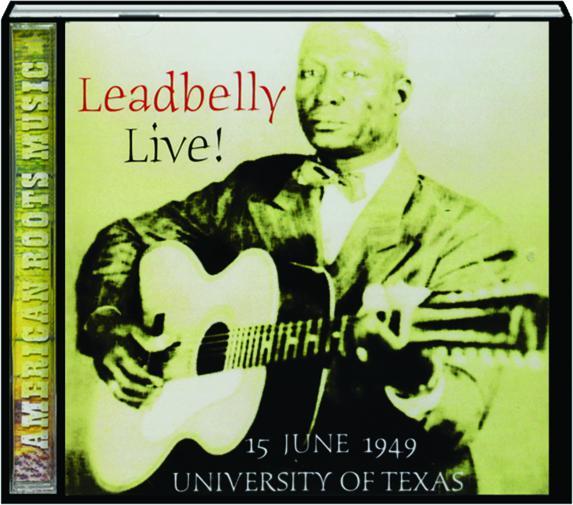 Leadbelly - Backwater Blues / Irene
