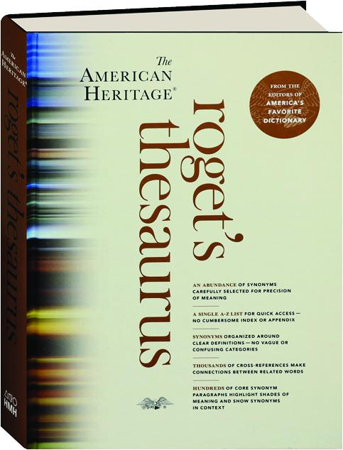 The american heritage rogets thesaurus hamiltonbook the american heritage rogets thesaurus solutioingenieria Choice Image