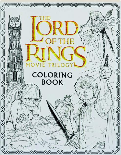THE LORD OF THE RINGS MOVIE TRILOGY COLORING BOOK - HamiltonBook.com