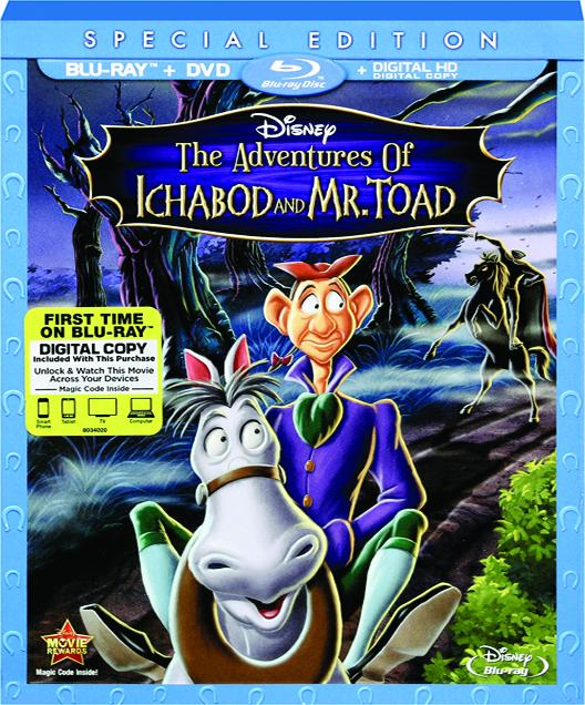 THE ADVENTURES OF ICHABOD AND MR  TOAD - HamiltonBook com