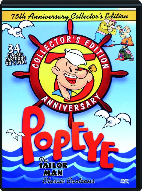 popeye the sailor man 75th anniversary collector s edition