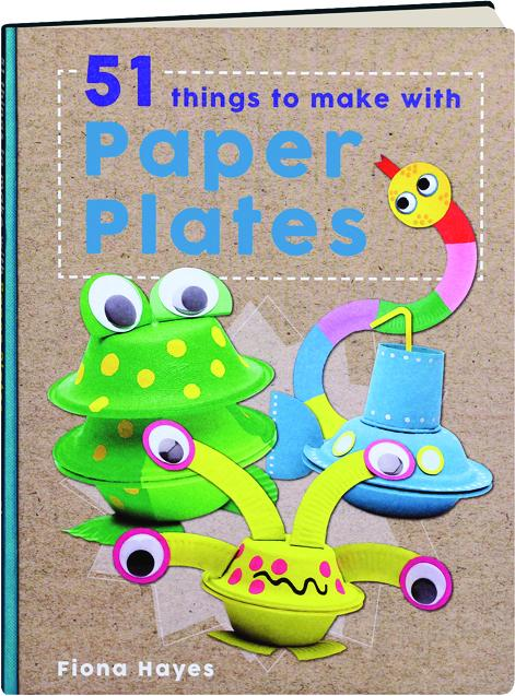 51 things to make with paper plates for Things to make with paper