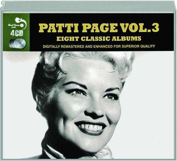 PATTI PAGE, VOL  3: Eight Classic Albums - HamiltonBook com