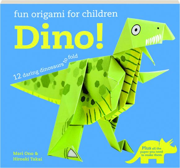 DINO! Fun Origami for Children - HamiltonBook.com - photo#27