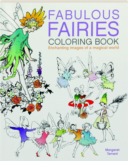 FABULOUS FAIRIES COLORING BOOK - HamiltonBook.com