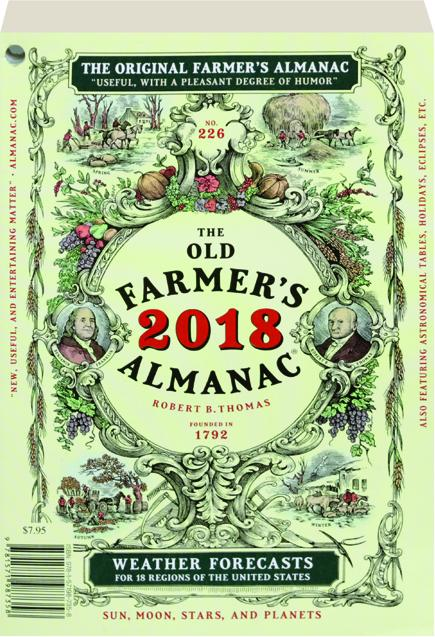 The old farmer 39 s almanac 2018 for Farmers almanac for fishing