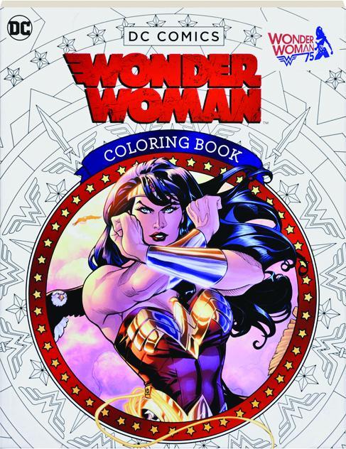 DC COMICS WONDER WOMAN COLORING BOOK - HamiltonBook.com