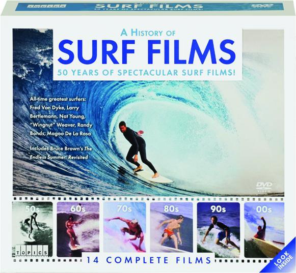 e440665aa4746c A HISTORY OF SURF FILMS  14 Complete Films - HamiltonBook.com
