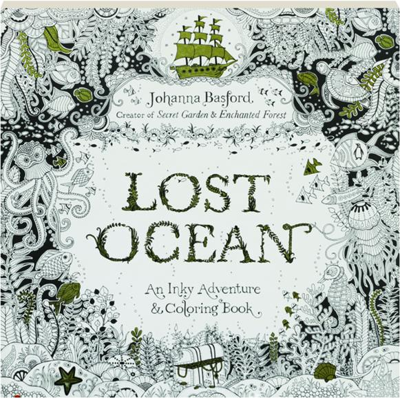 105 Coloring Book Lost Ocean Picture HD