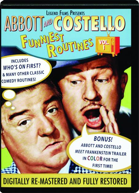 ABBOTT AND COSTELLO VOL 1 Funniest Routines